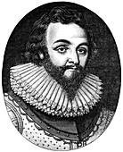 Sir Francis Drake, 16th century English navigator