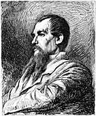Captain Richard Burton, British explorer, c1880-1882