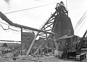 Markham Main Colliery, Doncaster, South Yorkshire, 1956