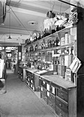 Pharmaceutical preparation area, 1956