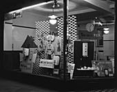 East Midlands Gas Board shop window, 1961