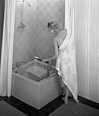 Imperial bath and shower unit, 1966