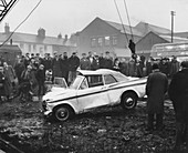 Sunbeam Rapier car accident, 1964