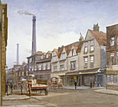 View of Mint Street, Southwark, London, 1884