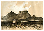 Table Mountain, Cape of Good Hope, South Africa, 1883