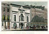 Egyptian Hall, Piccadilly, London, 1828