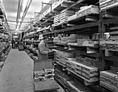 Distribution warehouse, Stanley Tools, 1967