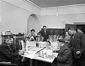 Retraining at a paraplegic centre, 1960