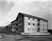 Housing project, Mexborough, South Yorkshire, 1962