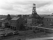 Frickley Colliery, South Elmsall, West Yorkshire, 1965