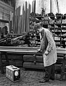 Ultrasonic testing of steel, J Beardshaw & Sons, 1963