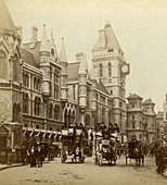 Law Courts, Strand, London, late 19th century
