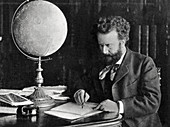 Camille Flammarion, French astronomer and author, 1890
