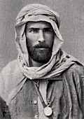 Pierre Savorgnan de Brazza, French explorer, 1882