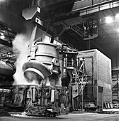 Charging a furnace, 1964