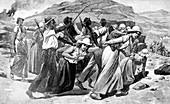 British treatment of Boer women and children, 1900