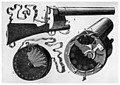 Photographic gun designed by Etienne Jules Marey, 1882