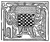 Game and play of chess, 1474