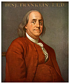 Benjamin Franklin, American scientist and politician, 1782