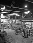 General view of a foundry, 1963
