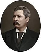 Henry Morton Stanley, African explorer, 1880