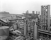 Carr House Gas Works, Rotherham, South Yorkshire, 1957