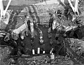 Excavations at Rossington Colliery, Yorkshire, 1963