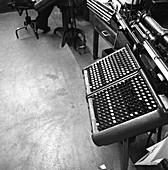 Monotype keyboard, 1968