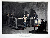 Third Degree of Torture of the Inquisition, 1813