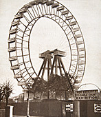 The Big Wheel, Earls Court, London, c1900