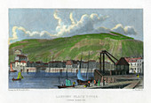 Landing place, outer harbour, Dover, Kent, 19th century