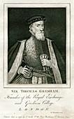 Sir Thomas Gresham, British merchant and financier