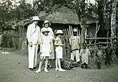 Europeans and locals, Sierra Leone, 20th century