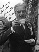 Anthony Eden, British Conservative politician