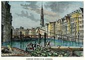 Hamburg, Germany, c1880