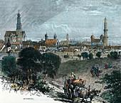 Augsburg, Germany, c1880