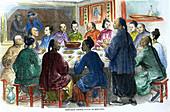 Chow-chow at Hong Kong, c1875