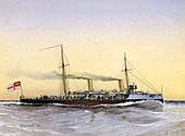 HMS 'Speedwell, Royal Navy torpedo gunboat, 1892