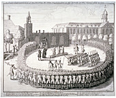 Execution at the Tower of London, 1743