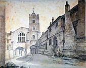 St Bartholomew-the-Great, City of London, 1803