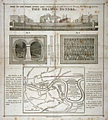The Thames Tunnel, London, 1827