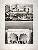 Thames Tunnel, London, 1843