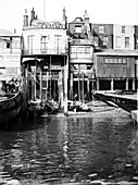 The Harbour Master's office, Limehouse, London, c1905