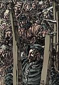 The Peasants' Revolt, c1895