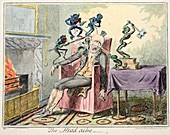 The Head Ache, 1835