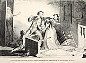 Plate IV of The Drunkard's Children