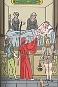The Treatment Of The Plague, c1493