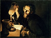 A Physician with a Urine Sample, c1630-1633