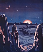 What Sunrise on the Moon Must Be Like, 1935