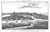 A Perspective View of Colchester, Essex, c1742